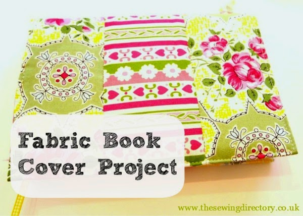 http://www.thesewingdirectory.co.uk/fabric-book-cover-project/
