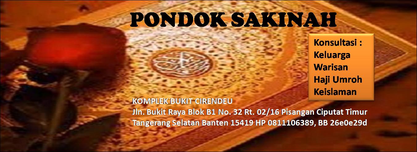 Sakinah Konseling Solusi Qur'ani