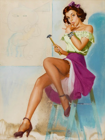 vintage pin up