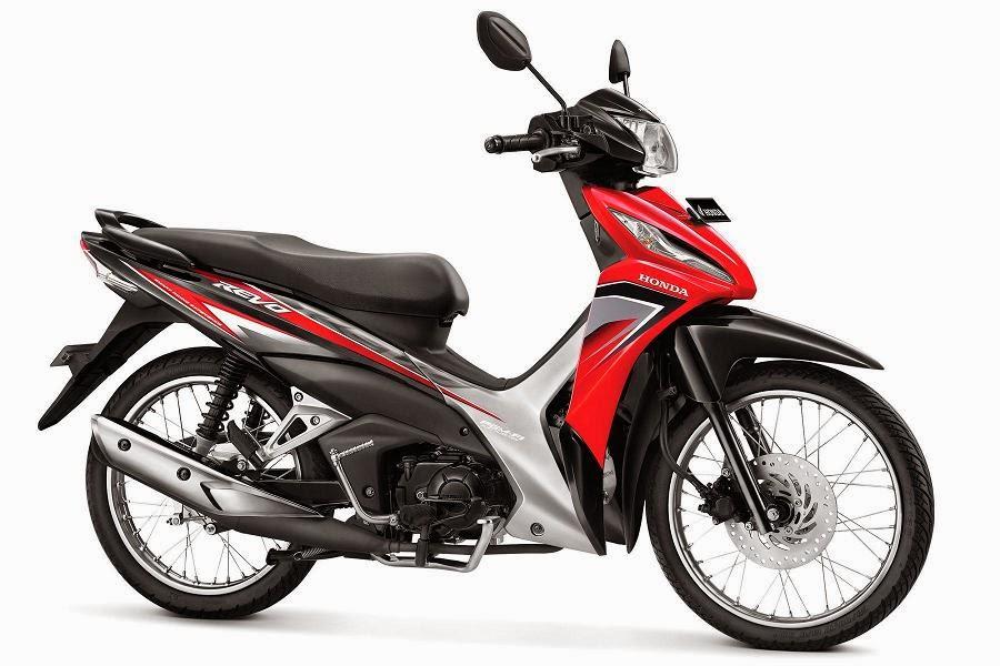 Warna Honda Revo SW PGM-FI merah