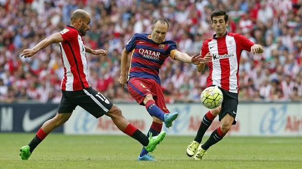 Athletic Bilbao 0-1 Barcelona, Kemenangan Satu Gol Oleh Suarez