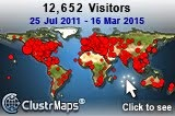 Visitors 25.07.2011-16.03.2015