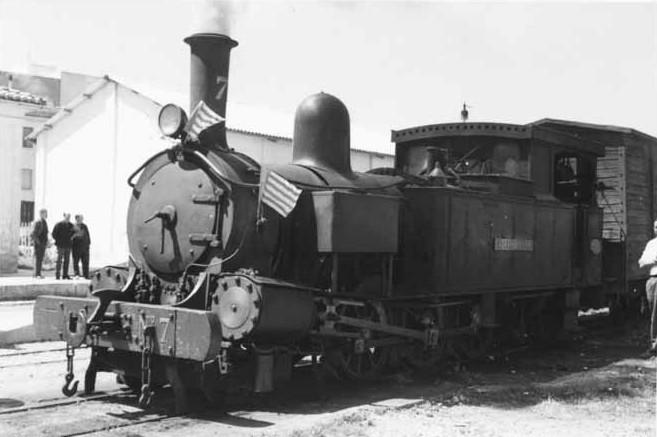 Locomotora número 7, Cocentaina