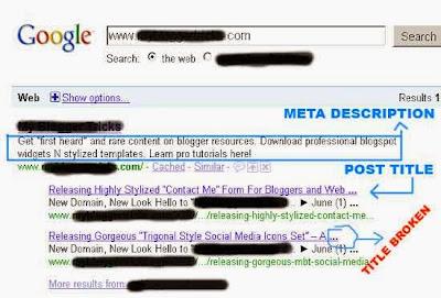 Pentingnya Jumlah Karakter Judul Postingan dan Meta Description