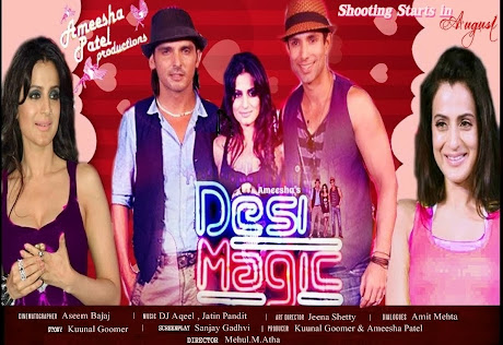 DESI MAGIC  shoots from August