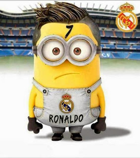 Gambar Minion Galau Ronaldo Real Madrid