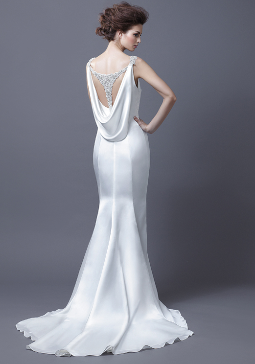 Dressybridal chic wedding dresses enzoani 2013 collection for Sexy open back wedding dress