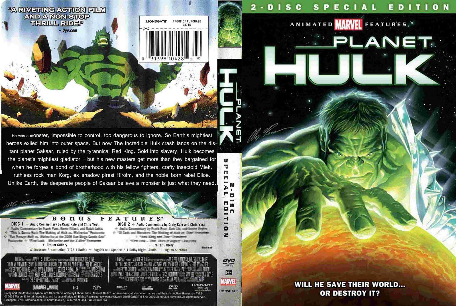 Animation Movie Planet Hulk 2010 Kazirhut Com Popular Bangla