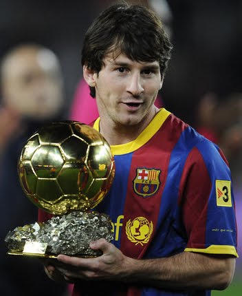 2010 FIFA WORLD CUP SOUTHAFRICA: Lionel Messi Won The Inaugural UEFA