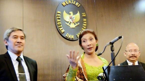 Menteri Kelautan dan Perikanan Susi Pudjiastuti Ditawar/disogok 5 triliun