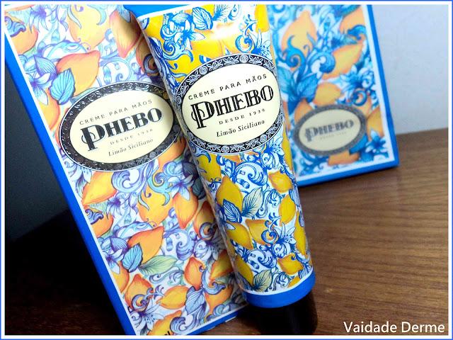 Creme Para Mãos Limão Siciliano da Phebo