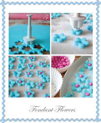 Fondant flowers by Torie Jayne