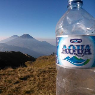 Aqua Gunung sindoro sumbing