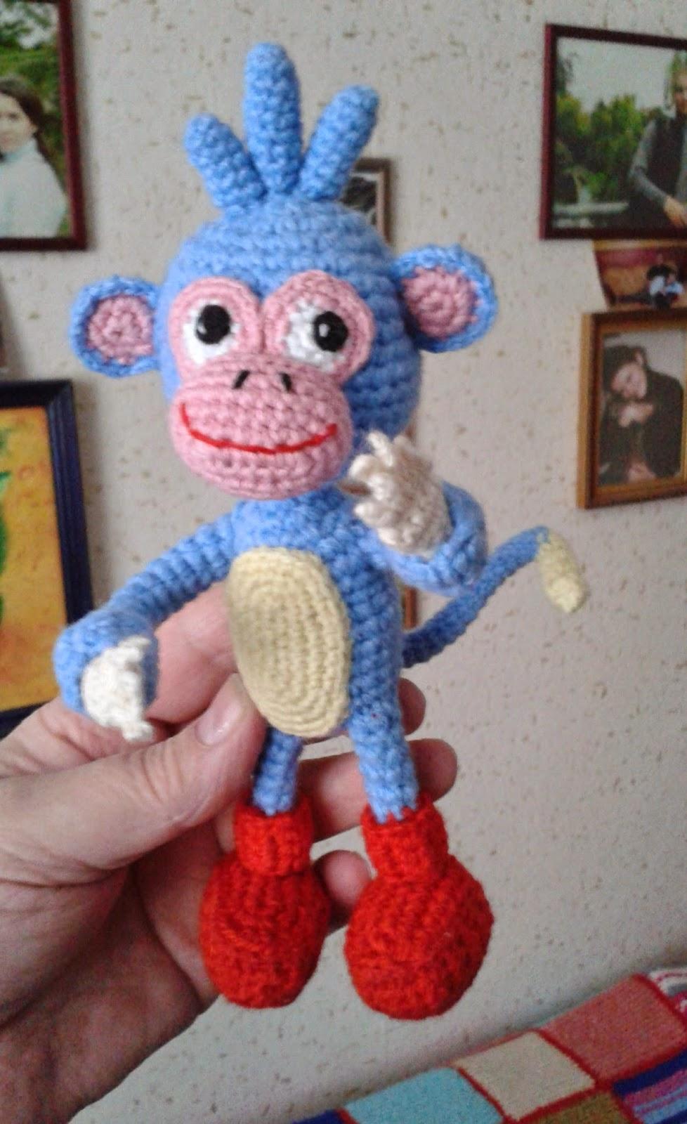 обезьянка из мультфильма