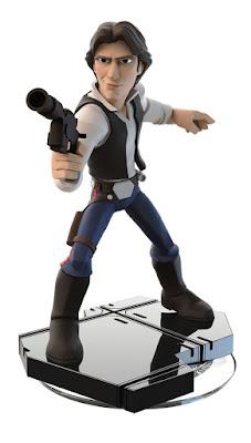 JUGUETES - DISNEY Infinity 3.0 Star Wars : Han Solo Videojuegos - Muñecos - Figuras Producto Oficial | A partir de 6 años | Comprar en Amazon