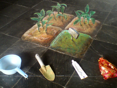 Creative and Cool 3D Chalk Drawings (10) 6