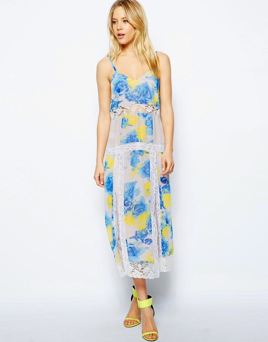 flower cami dress