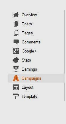 New Campaign Feature in Blogger
