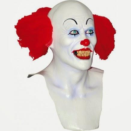 Máscara Payaso Halloween estilo Pennywise