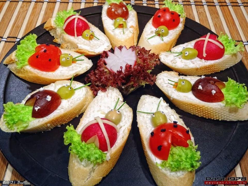 creatief besparen en meer: broodjes versieren