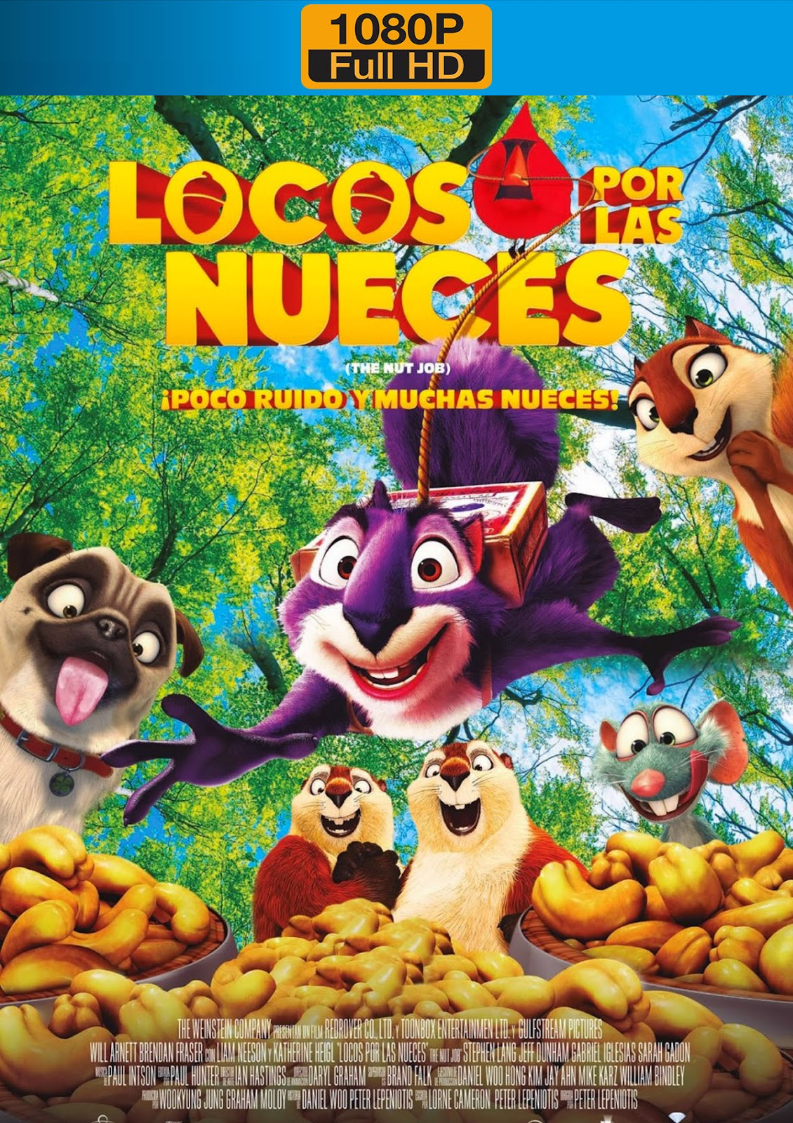 The Nut Job 2014 1080p Dual