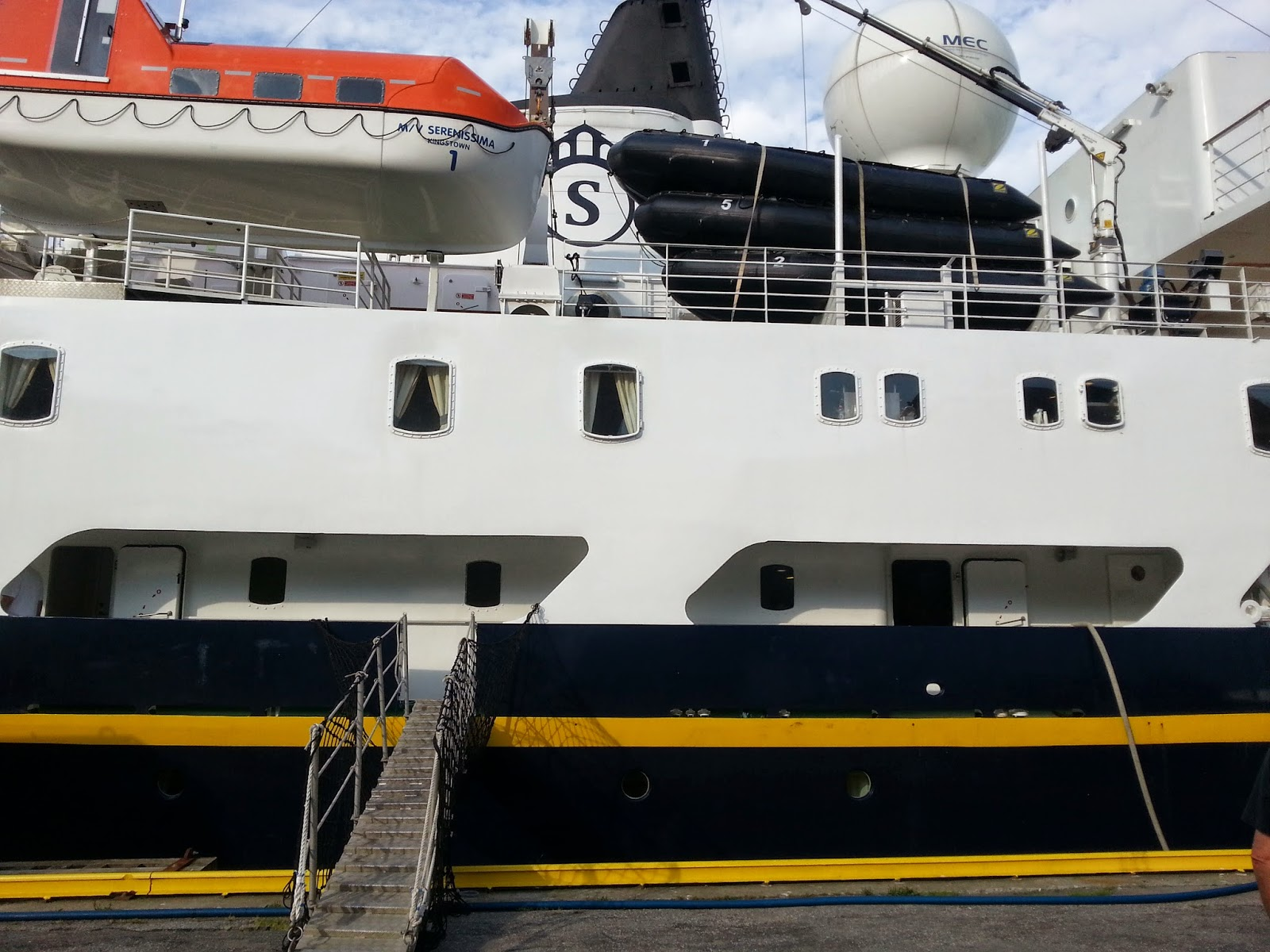 Cruise Ship Serenissima in Bergen