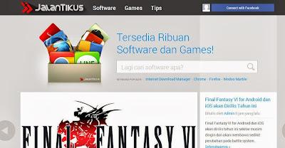 Terbaru Jalantikus.com dengan Server Lokal