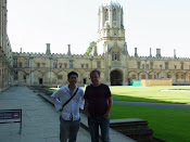 At Christ Church College with VP