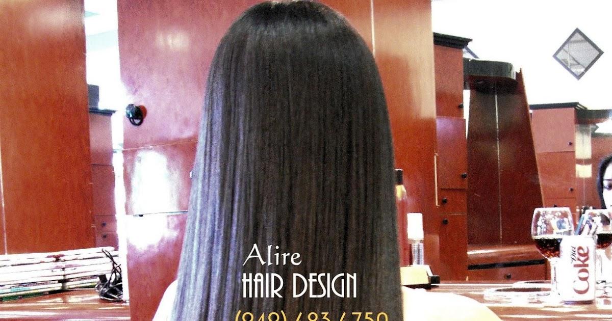 Hair Straightening Treatments Orange County Irvine