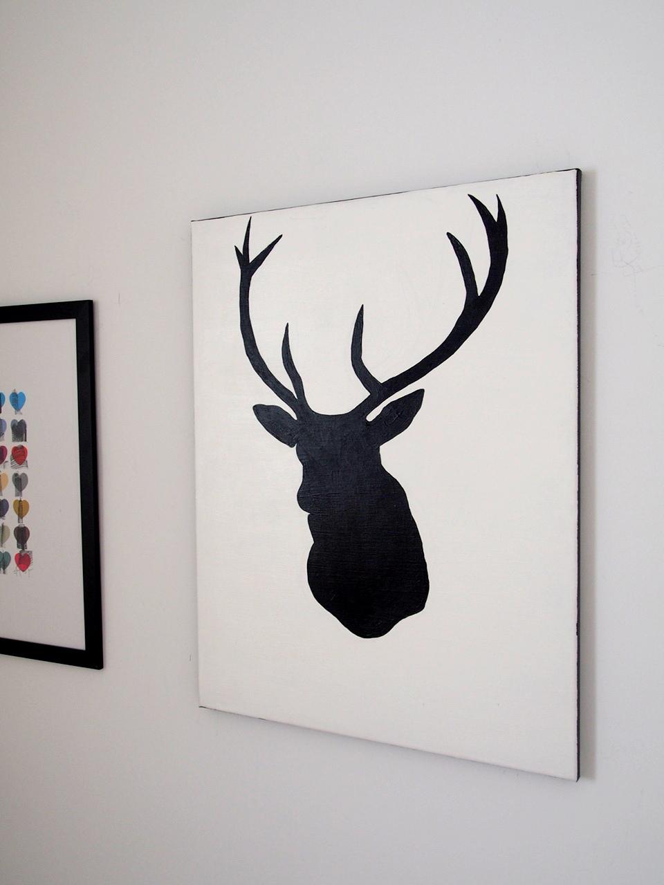 DIY: Reindeer Painting.