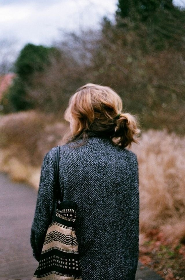Chica de espaldas