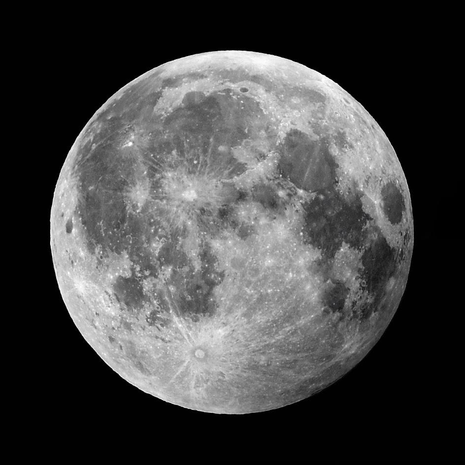 صورة مدهشة للقمر