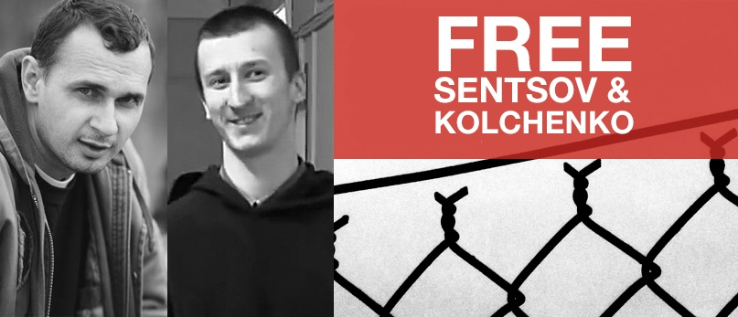 Libertem Sentsov e Kolchenko!