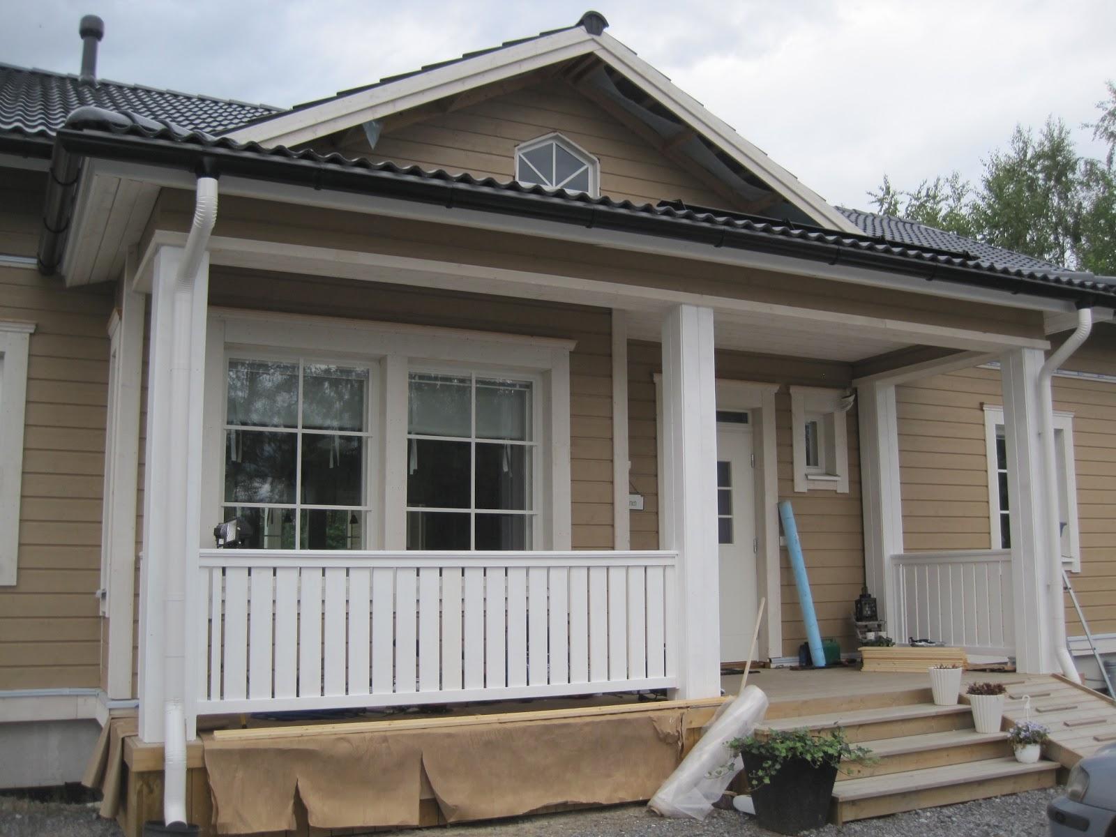 Husbygge i karperö: juli 2012