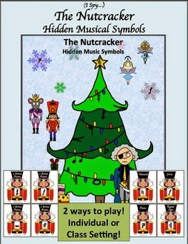http://www.teacherspayteachers.com/Product/I-Spy-The-Nutcracker-Hidden-Music-Symbols-1432363