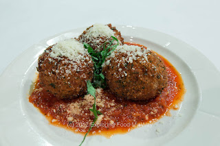 Fried Risotto Balls with Marinara