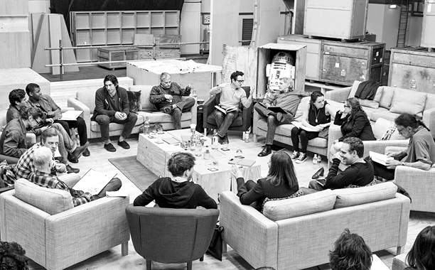Star Wars Episode VII First Cast Picture