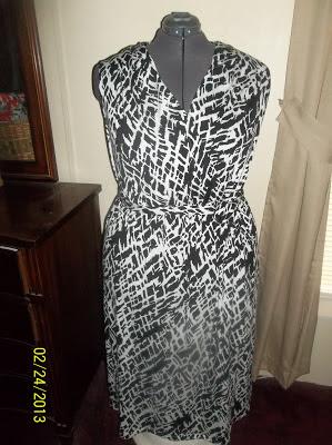 Butterick 5764 Knit Maxi Dress