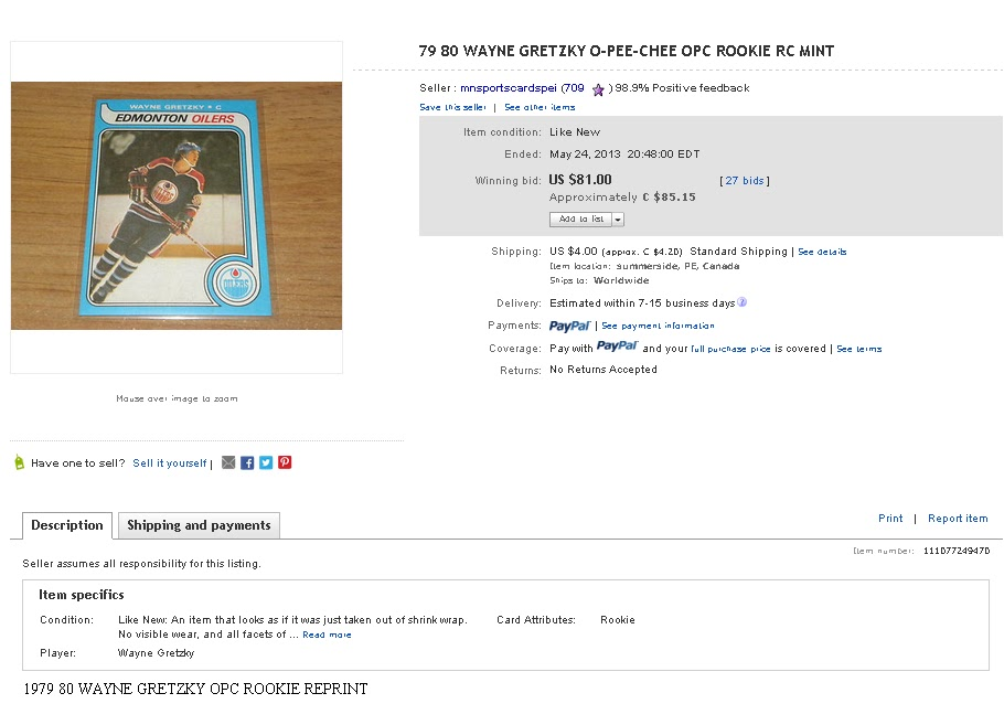 like many sellers all the important information isnu0027t in the title and you can see that there is one important word in the description which is reprint