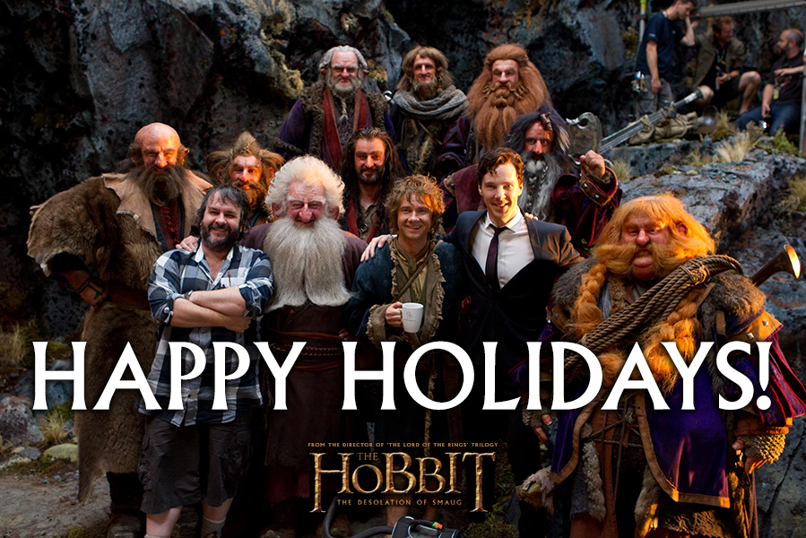 Holiday Happenins Hobbit+christmas