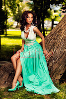 Rochie eleganta de seara alb turquoise (Atmosphere)