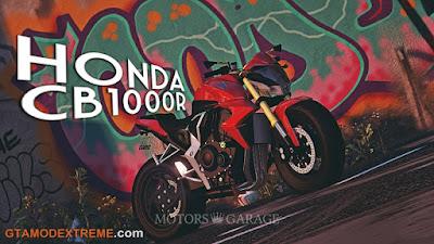 Baixar moto Honda CB1000R Para GTA V