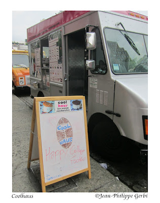 Image of CoolHaus Ice Cream food truck in NYC, New York