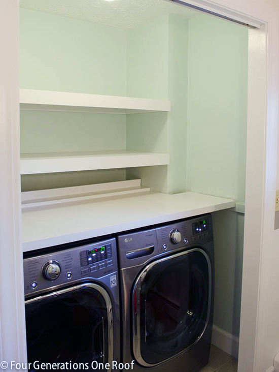 Iheart organizing reader space a rockin 39 laundry room for Laundry room renovation