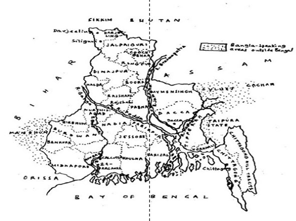 the partition of bengal 1905 Why was bengal partitioned in 1905 by lord  it was therefore decided to partition bengal to allow for development in education and employment to be.