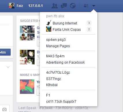 cara mengubah bahasa facebook menjadi bahasa alay