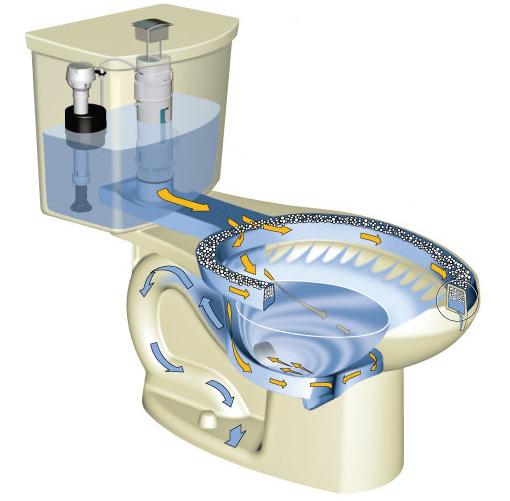 Everything Toilets American Standard H2option Dual Flush