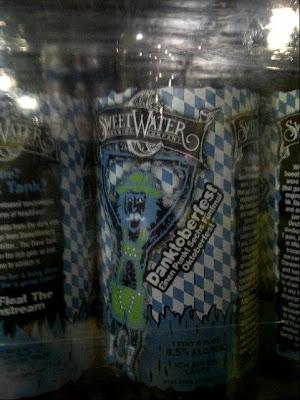 SweetWater DANK TANK Danktoberfest bottles