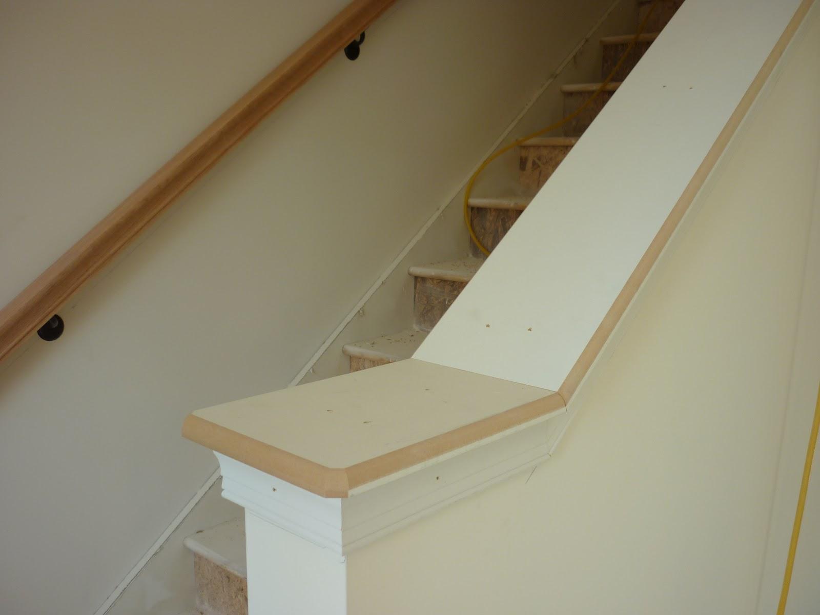 Half Wall Or Hand Rail For Stairs Joy Studio Design