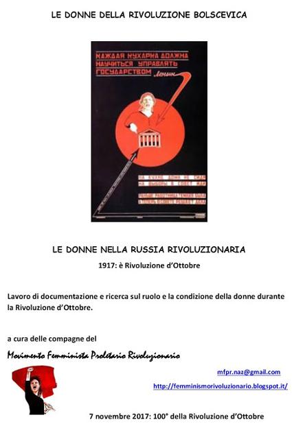"""""""Le donne della rivoluzione bolscevica"""""""